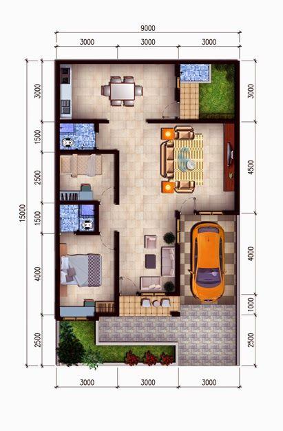 1000 ide tentang desain rumah mungil di pinterest rumah