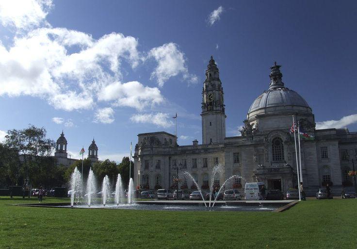 Cardiff City Hall, Wales, United Kingdom