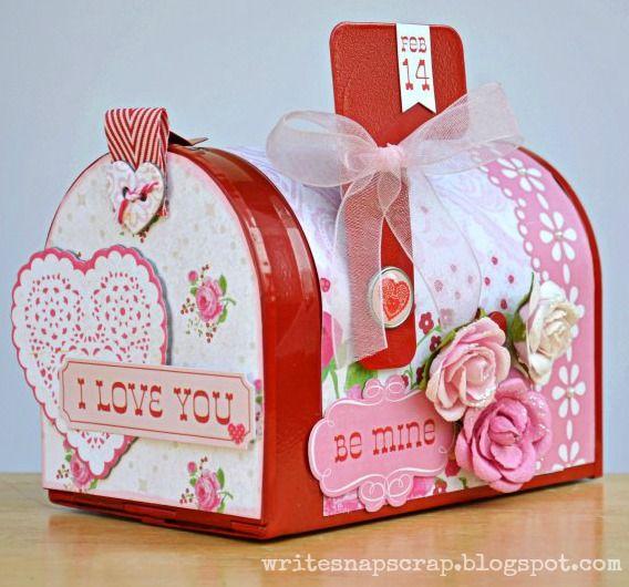 Valentine Mailbox - Scrapbook.com