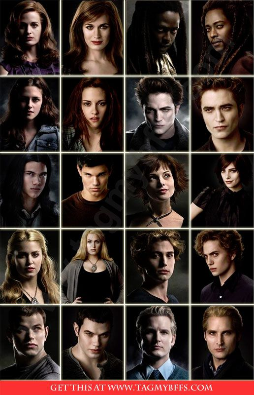 the twilight saga characters full names google search