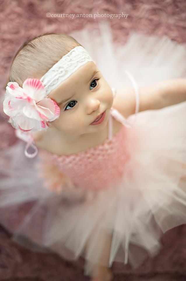 Baby Photography Six Months Photography Ballerina Baby  www.courtneyanton.com