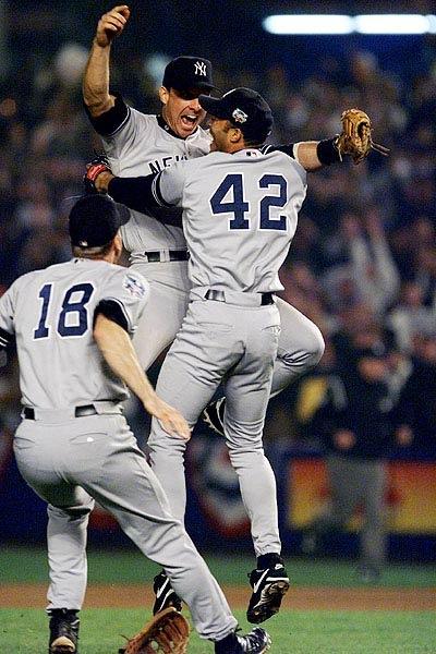 2000 World Series Champion New York Yankees.
