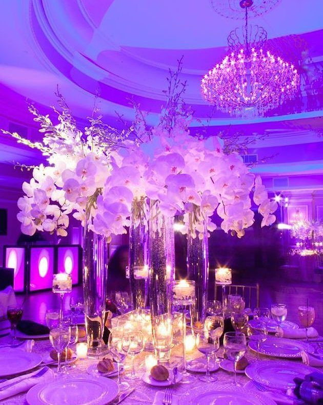 Beautiful #colorwash #uplight lighting transforms this reception! Great photo via #FLORALCOUTUREBYARMANDOANGELES # & 1522 best Uplighting Inspiration images on Pinterest azcodes.com
