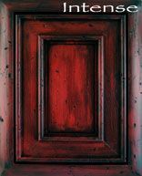 """black and red crackle furniture 