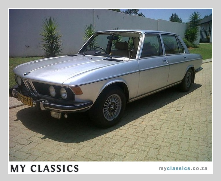 1977 Bmw 3 0li Classic Car Classic Cars Pinterest