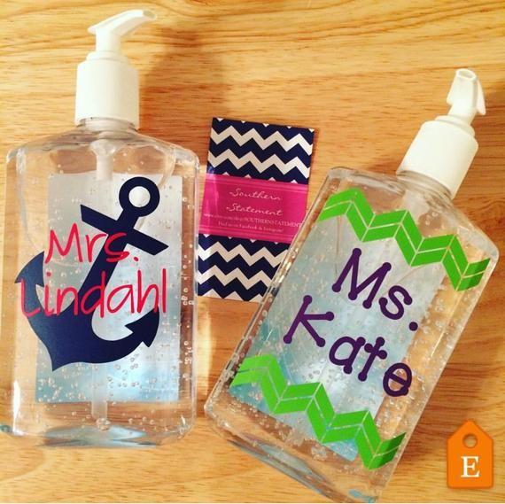 Classroom Hand Sanitizer Bathroom Pass Kim S Cricut Creations