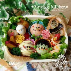 キャラ弁☆ハロウィントリオ弁当 の画像 *Paradise Kitchen*