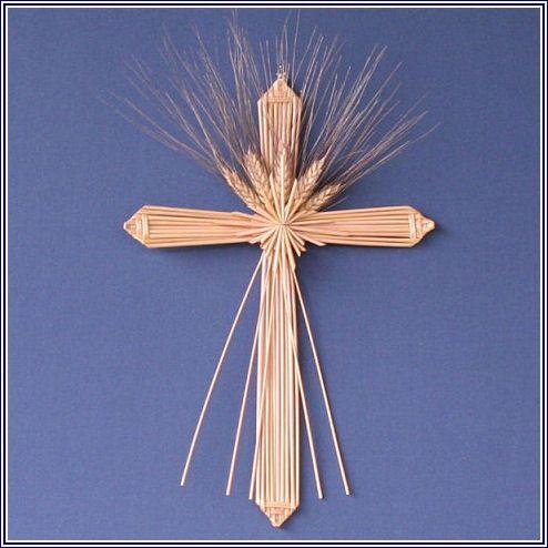 wheat weaving cross    Isaiah 55: