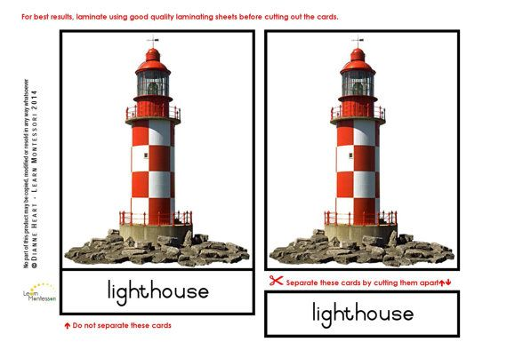 Montessori Curriculum  Language: At the Seaside by LearnMontessori