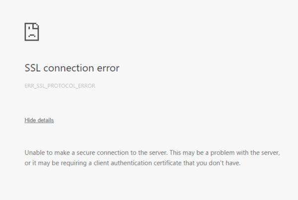 how to fix ssl error 47