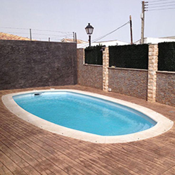 Esta piscina como su nombre indica simboliza las curvas for Piscinas dtp
