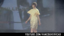 Khaki Yellow Top and Buttermilk Yellow Skirt by Tennille Oppen  Subscribe to VCAD: http://www.youtube.com/subscription_center?add_user=VancouverVCAD   #Khaki #Yellow #Top #and #Buttermilk #Yellow #Skirt #by #Tennille #Oppen