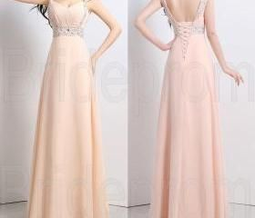 Formal Cap Sleeves Bridesmaid Dresses Evening Dress Long Evening Dress Fashion Prom Dress Wedding Party Prom Dresses