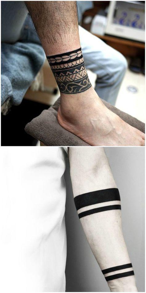 Tatuajes De Brazaletes Tatuajes Para Mujeres Y Hombres - Tatuajes-de-pulsera-para-hombres