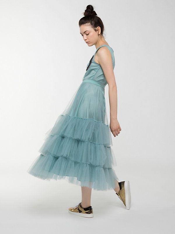 Платье из тюля C710 3