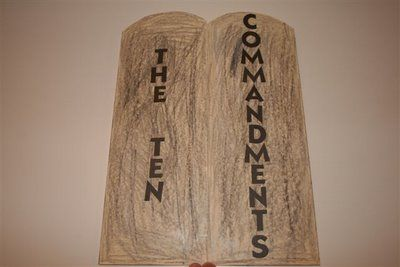 10 Commandments Simple Lapbook