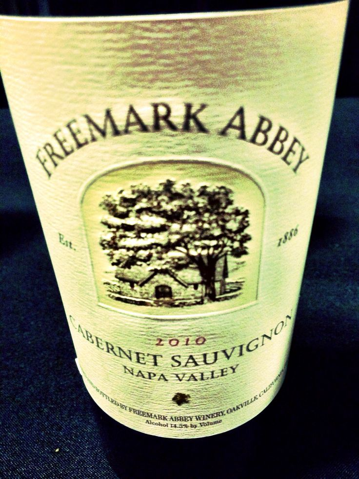 Runner-up for the night, 2010 Freemark Abbey Cabernet Sauvignon. Reasonably priced for such a great bottle, bought a few.