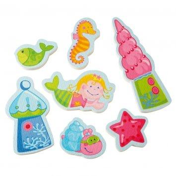 Mermaid bath toys by HABA