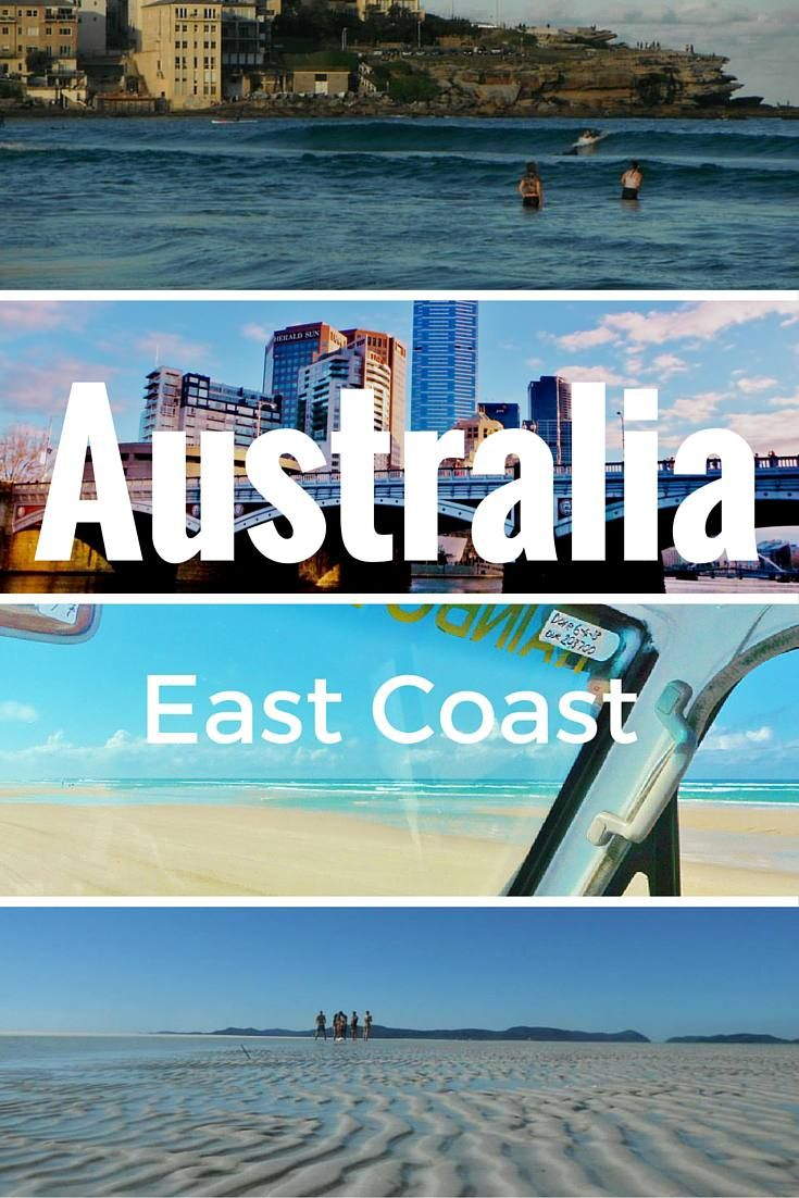 The Great Australian Road Trip. It's a rite of passage for backpackers, and the East Coast offers countless beautiful moments. Here are 4 essential stops.