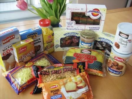 GF Passover Products