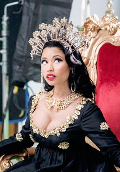 "all-nickiminaj: "" Nicki Minaj bts MTV EMA's 2014 photoshoot """