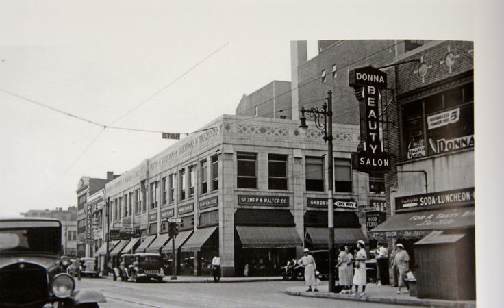 Central Ave -1930's | Vintage Photos of Newark New Jersey ...