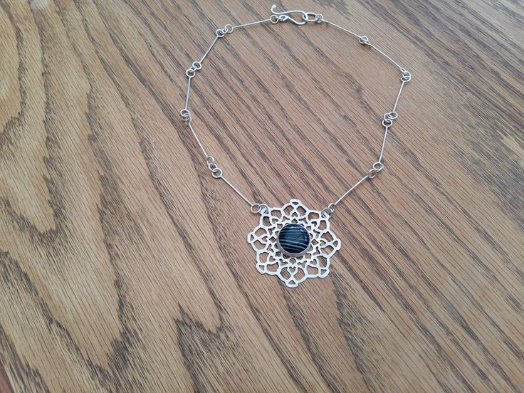 With festival season almost upon us this mandala pendant will soon be on sale at https://www.etsy.com/uk/shop/themondaysilverworks