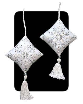 Hardanger Crystal Snowflake Ornaments More