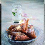 Briouats aux amandes et à la fleur d'oranger - http://www.cuisineetvinsdefrance.com/,briouats-aux-amandes-et-a-la-fleur-d-oranger,28885.asp