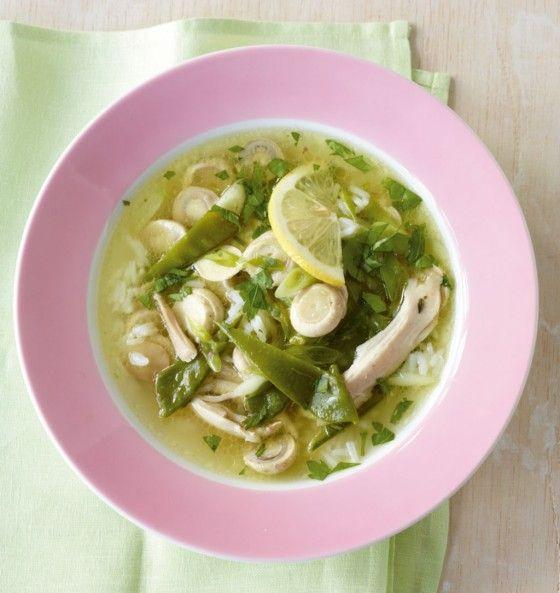 Zitronen-Hähnchen-Suppe - Winter: Leichte Küche - 5 - [ESSEN & TRINKEN]