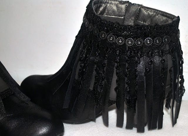 Diy & glam: DIY Transforma unas botas viejas en nuevas