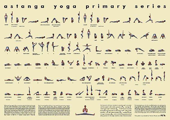 ashtanga primary series chart