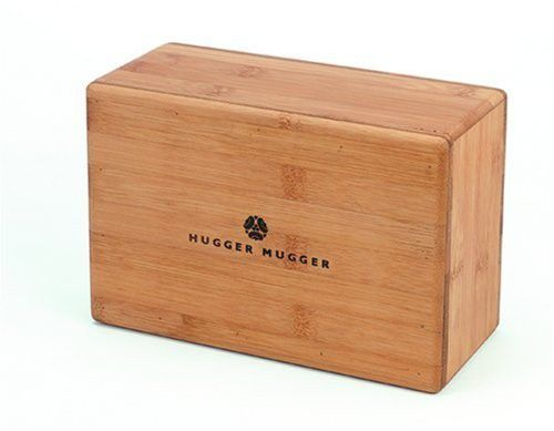 Hugger Mugger Bamboo Yoga Block by Hugger Mugger