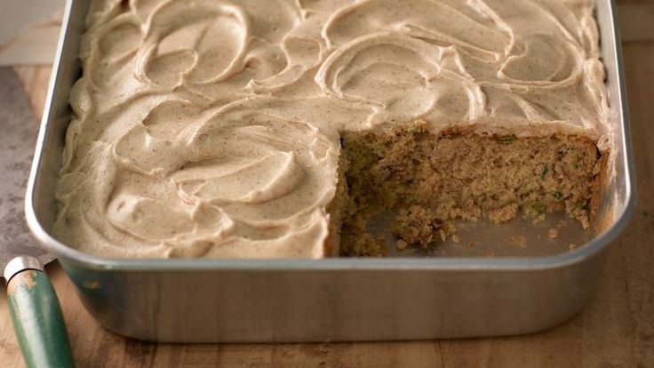 Here's another baking classic that belongs in everyone's recipe box. A clove-scented homemade frosting makes a good thing even better!