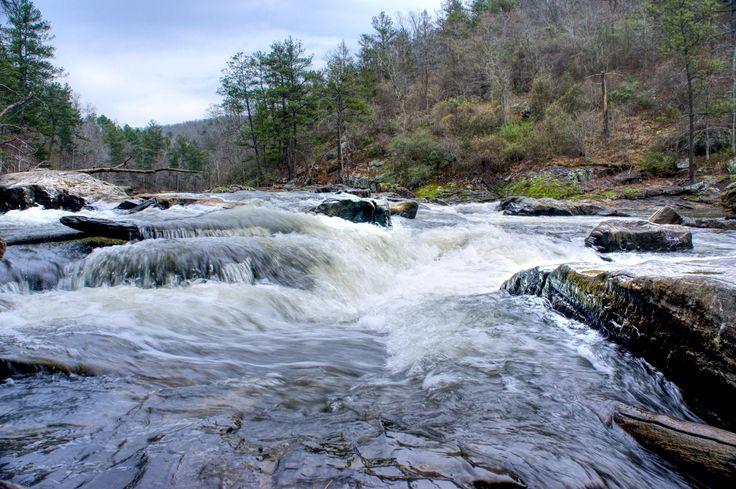 Sweetwater Creek rapids Lithia Springs GA [2400x1596] [OC]
