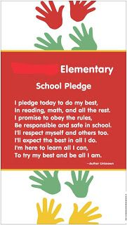 Teaching in Room 6: A pledge to make at morning meeting