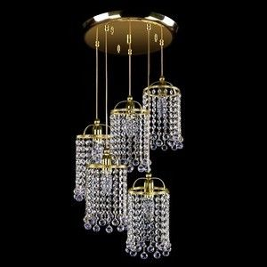 Small Game Collection of modern ceiling lights by ArtGlass #CrystalPendantLight