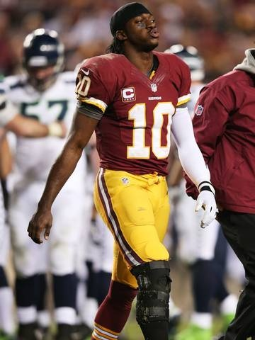 RG3's dad says Redskins quarterback needs ACL replacement