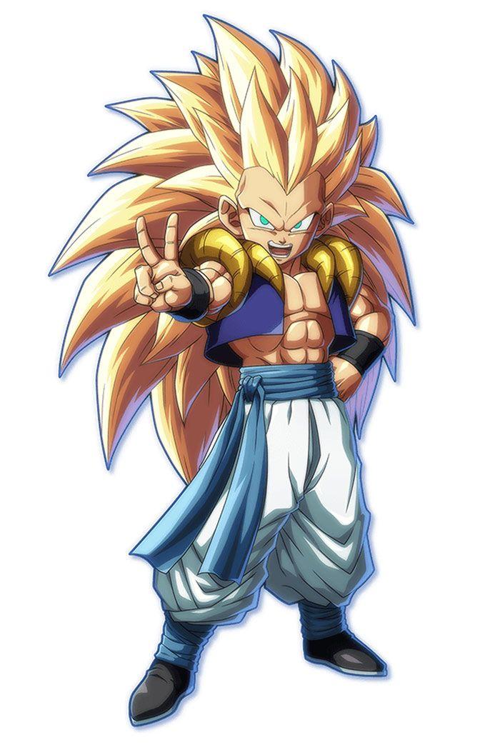 Gotenks From Dragon Ball Fighterz Anime Dragoes Desenhos