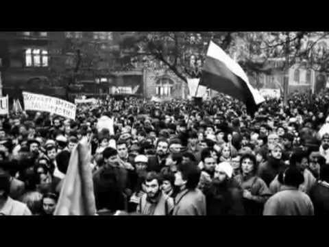 Nežná revolúcia (17. november 1989): 20 rokov po - YouTube