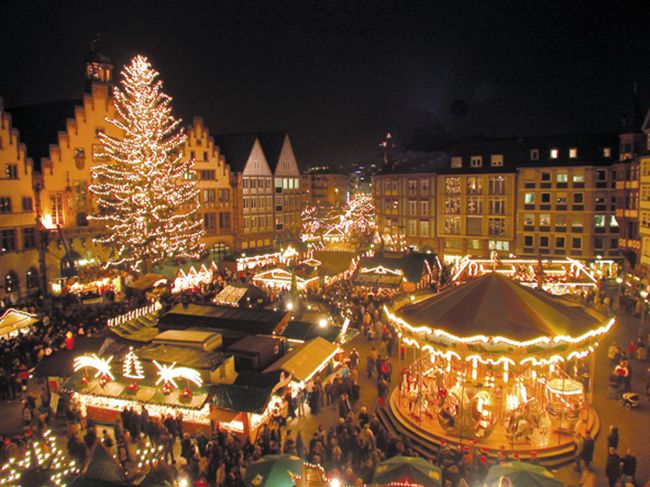 Old Town Square, Heidelberg, Germany