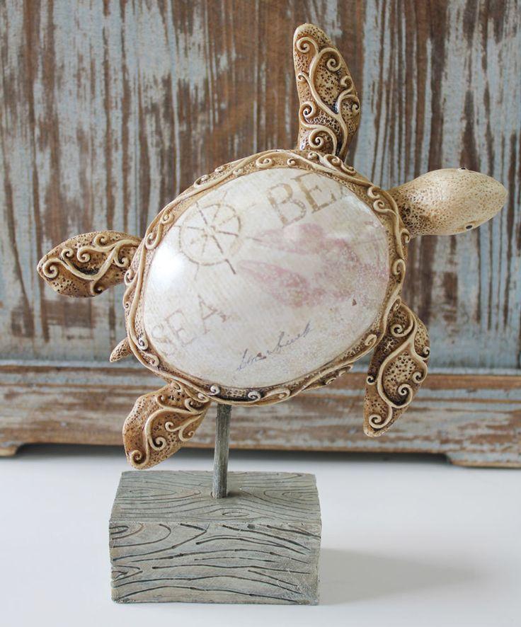 Decorative Resin Sea Turtle  (http://www.caseashells.com/decorative-resin-sea-turtle/)