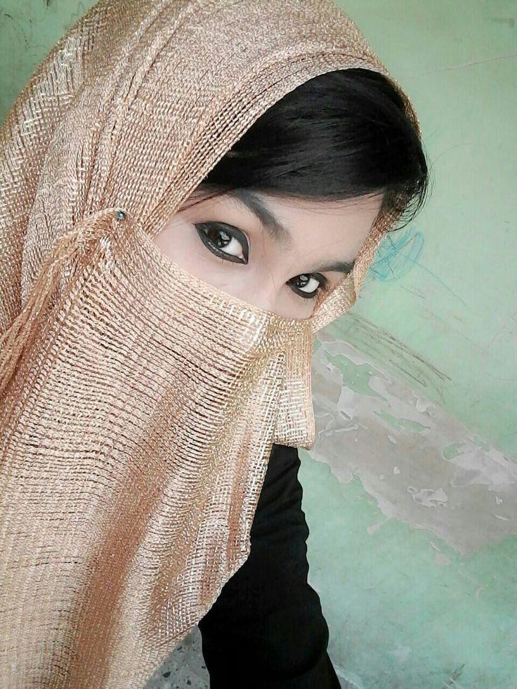 Angel Saru  Beautiful Muslim Women, Hijabi Girl, Islamic Girl-3513