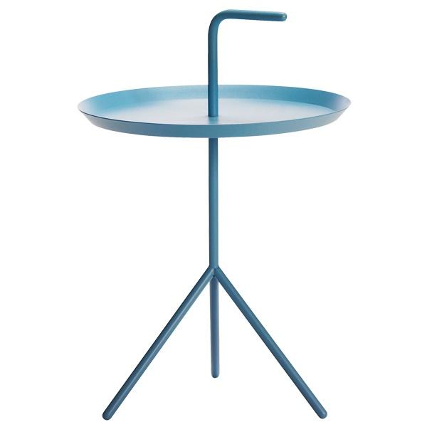 DLM by HAY  side table  XL  wymiar:szer. 48,2 x gł. 48,2 x wys. 49,5/65    kolory:czarny, niebieski, kremowy, ciemnoszary, zielony, jasnoszary, biały, żółty    materiał:stal lakierowana proszkowo    840,-