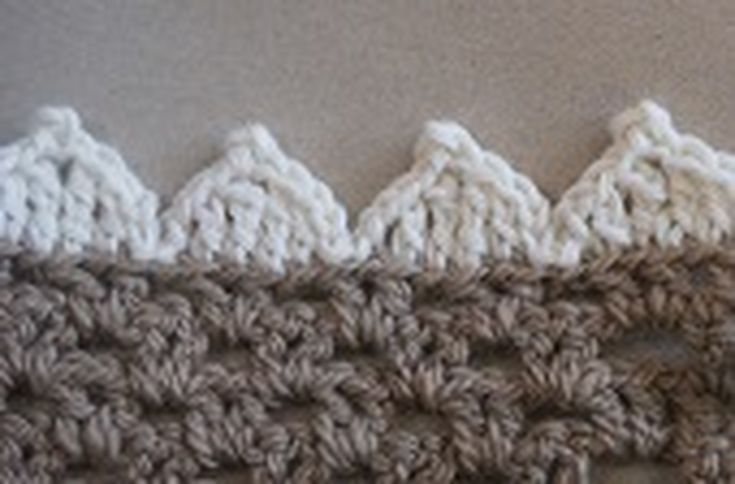 35 Best Crochet Afghan Borders And Edges Images On