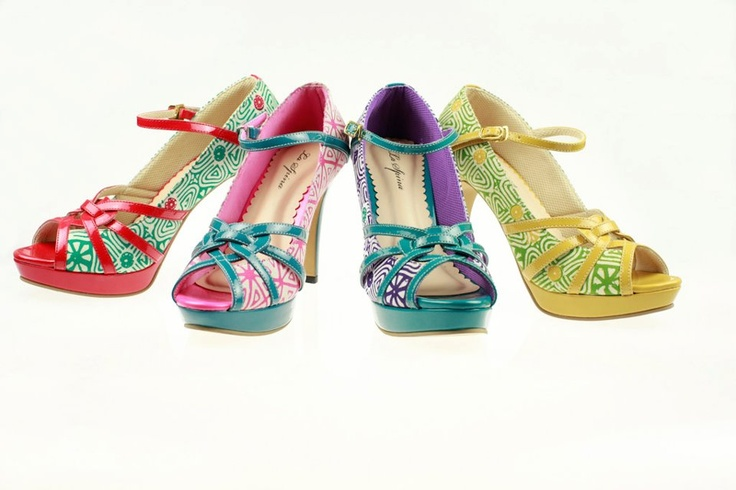 Taking pride in its Indonesian heritage through its label, La Spina now aims to promotes and preserves Indonesian tradisional fabrics (such as batik, ulos, tenun, songket, ect) by infusing them into every shoe design.    Wearing a pair of La Spina shoes means Stepping Out in style, taking a piece of Indonesia where ever you go for the rest of the world to see.    laspinacollection.com