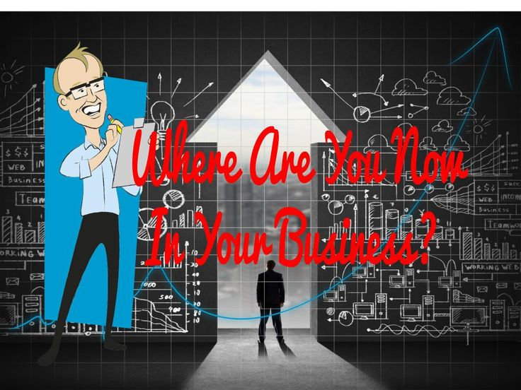 Where Are You Now In Your Business?