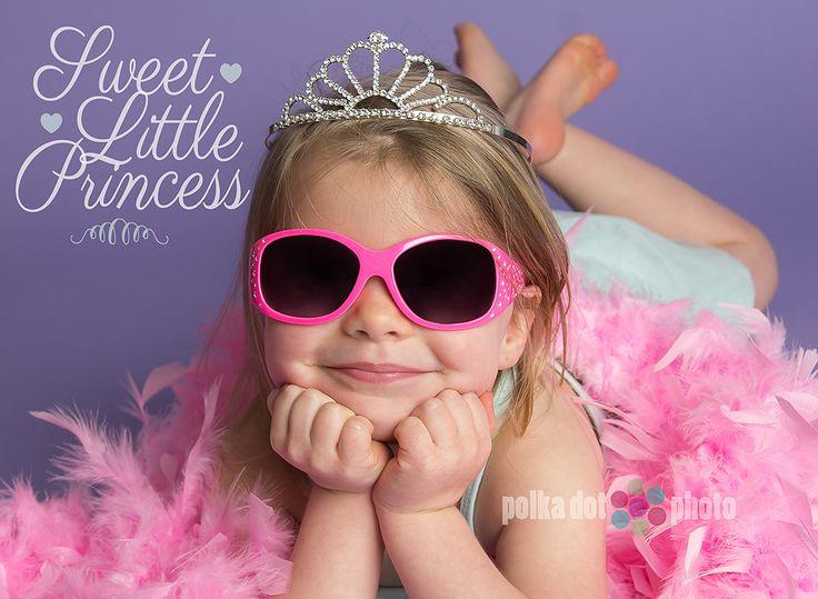 princess pose for little girl