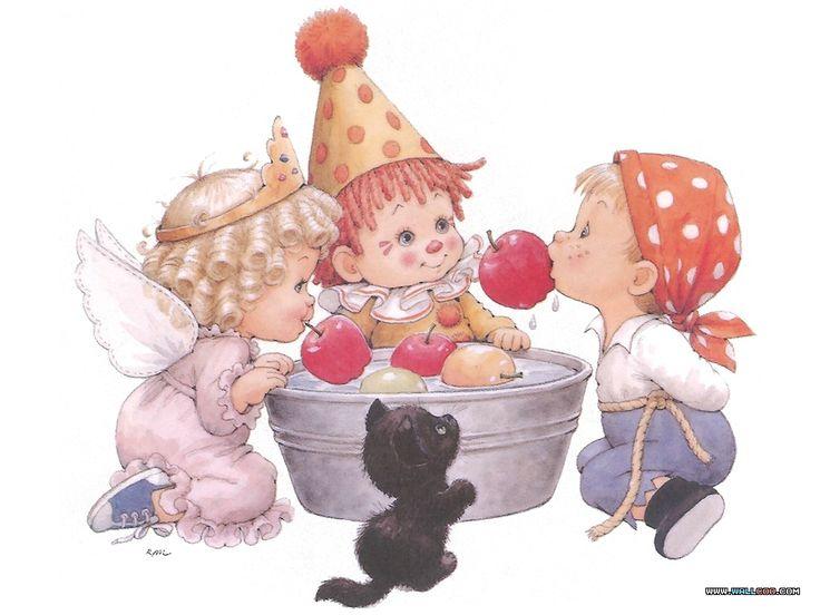 Забавные картинки для детей, праздновании нового