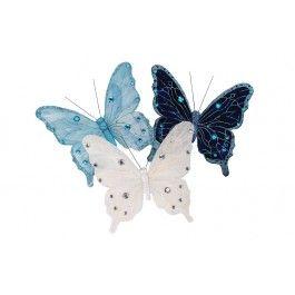 Jysk FROZEN Butterfly Ornaments